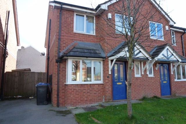Thumbnail Semi-detached house for sale in Grimshaw Court, Golborne, Warrington