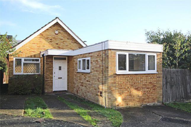 Thumbnail Detached bungalow to rent in Falaise, Egham, Surrey
