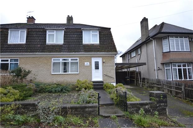 Thumbnail Semi-detached house for sale in The Dell, Westbury-On-Trym, Bristol