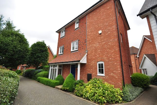 Thumbnail Detached house to rent in Ames Way, Kings Hill, West Malling