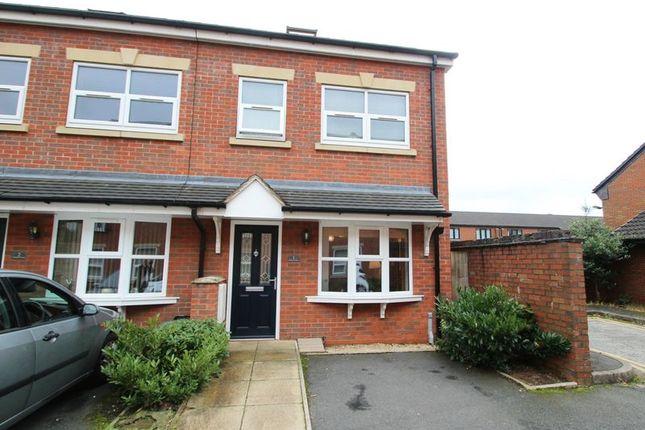Thumbnail End terrace house for sale in James Street, Wolstanton, Newcastle-Under-Lyme