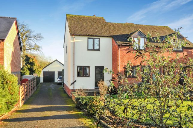 Thumbnail End terrace house for sale in Hanbury Green, Shobdon, Leominster