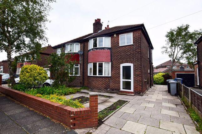 Thumbnail Semi-detached house for sale in Sinderland Road, Altrincham