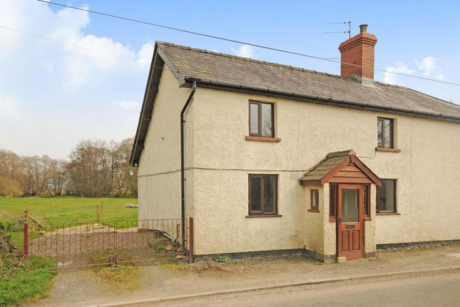 Thumbnail Semi-detached house to rent in Walton, Presteigne, Walton