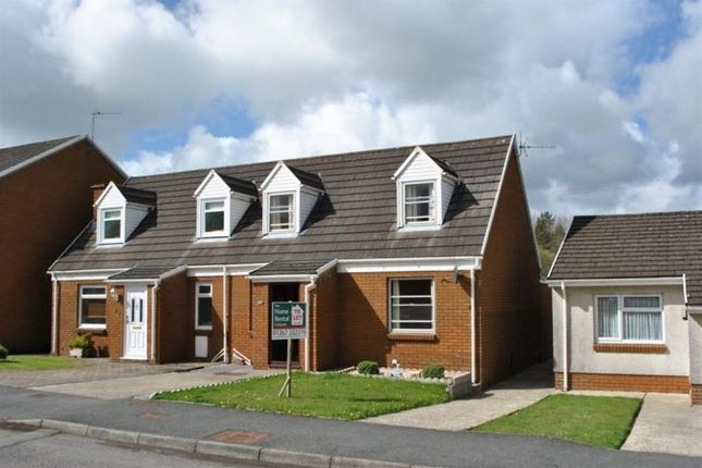 Thumbnail Bungalow to rent in Gors Fach, Pwlltrap, St. Clears, Carmarthen