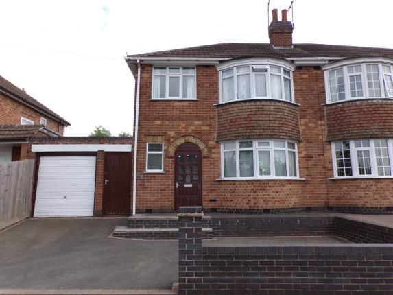 Thumbnail Semi-detached house for sale in Kingsway North, Braunstone Town, Leicester, Leicestershire