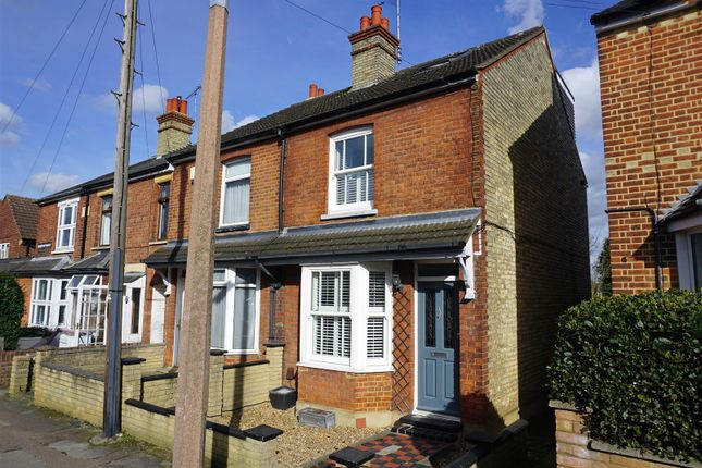 Thumbnail End terrace house for sale in Brampton Park Road, Hitchin