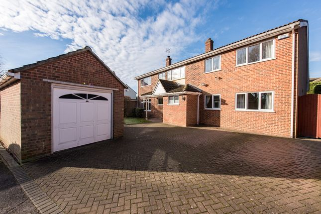 Thumbnail Detached house for sale in Woodview Drive, Great Leighs, Chelmsford