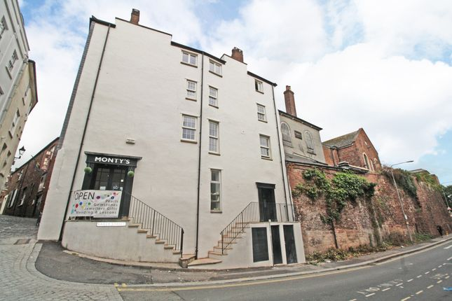 Thumbnail Flat to rent in Castle Street, Exeter