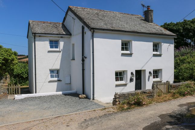 Thumbnail Cottage for sale in Trenance, St Issey