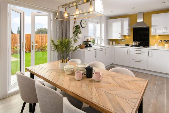 Open-Plan Kitchen/Diner In Hesketh With French Doors To Gardenb