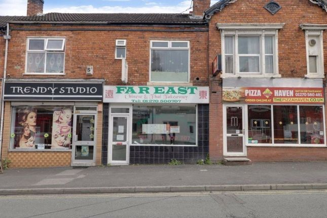 Thumbnail Restaurant/cafe for sale in Edleston Road, Crewe, Cheshire