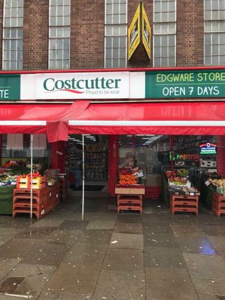 Thumbnail Retail premises for sale in Burnt Oak, Edgware