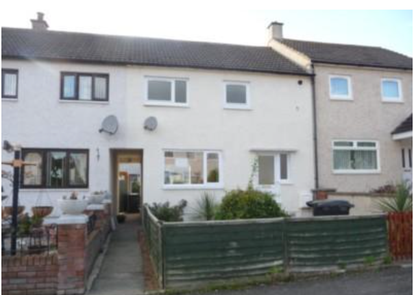 Terraced house for sale in Surrone Road, Gretna