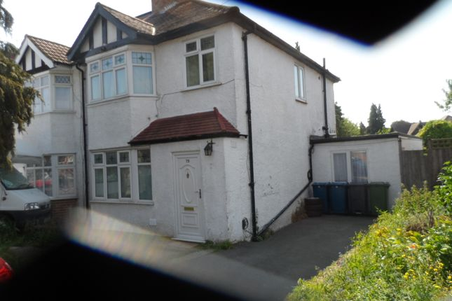 Thumbnail Semi-detached house to rent in Oakleigh Avenue, Burnt Oak