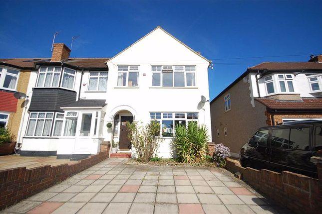 Thumbnail End terrace house to rent in Ryefield Avenue, Hillingdon, Uxbridge