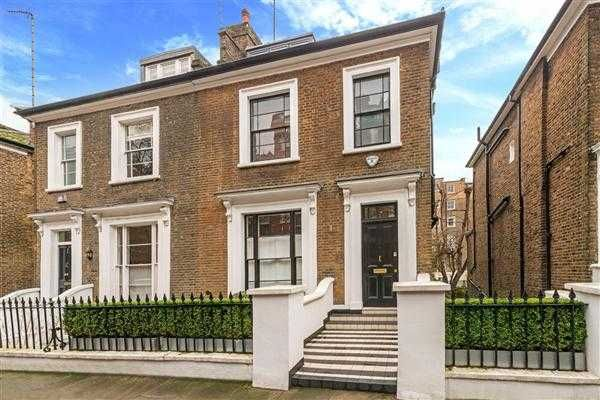 Thumbnail Semi-detached house for sale in Lanark Road, Little Venice, London