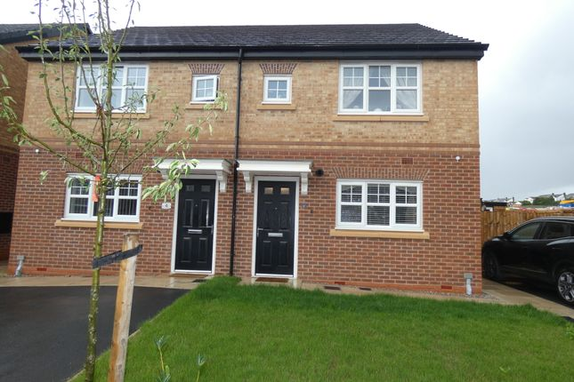 Thumbnail Semi-detached house for sale in Jackfield Way, Skelmersdale