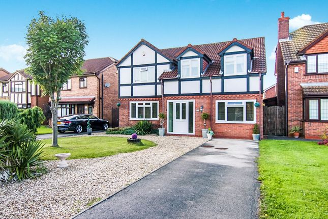Thumbnail Detached house for sale in Lichfield Drive, Great Sutton, Ellesmere Port