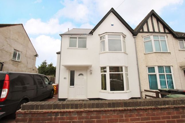 Thumbnail Semi-detached house to rent in Queens Road, Beeston, Nottingham