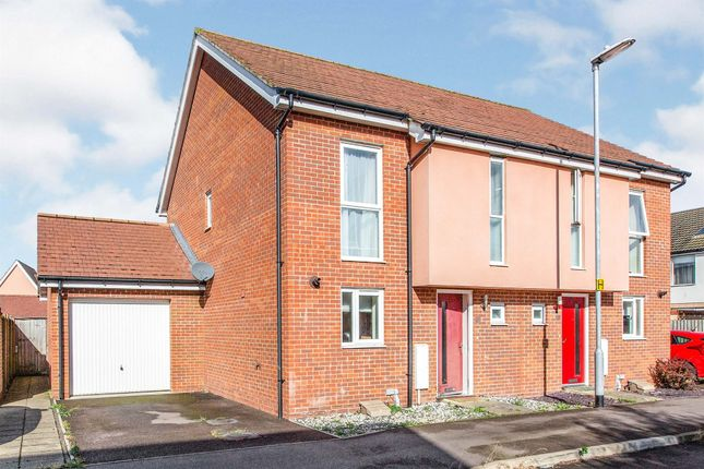 3 bed semi-detached house for sale in Spitfire Road, Upper Cambourne, Cambridge CB23