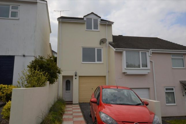 Thumbnail Semi-detached house for sale in Bench Tor Close, Shiphay, Torquay, Devon