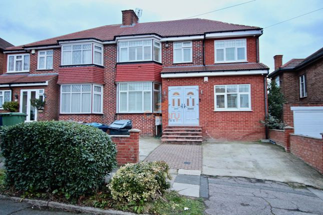 Thumbnail Semi-detached house to rent in Lyon Meade, Stanmore, Middlesex, London