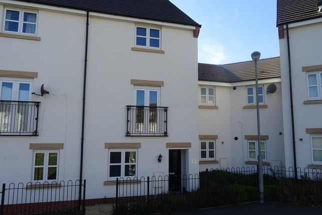 Thumbnail Terraced house to rent in Grenadier Drive, Stoke Village