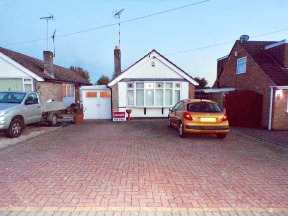 Thumbnail Bungalow for sale in Leighton Crescent, Elmesthorpe, Leicester, Leicestershire