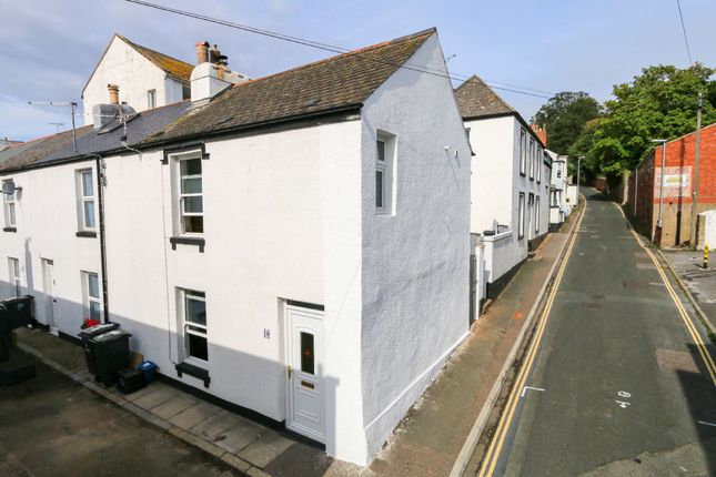 Thumbnail End terrace house for sale in Boscawen Place, Teignmouth