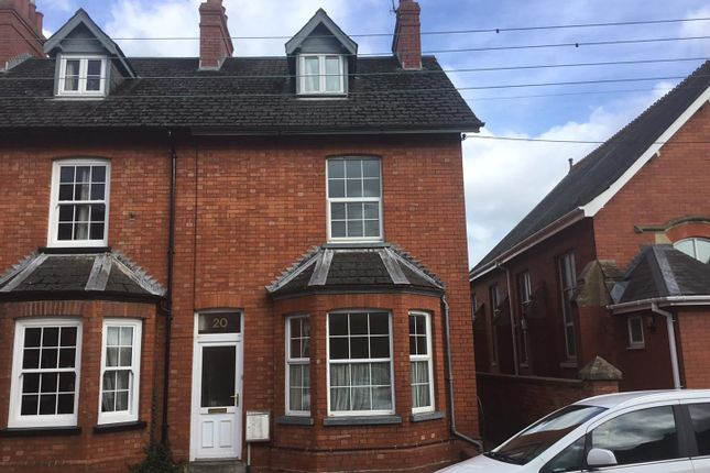 Thumbnail End terrace house to rent in King Street, Tiverton