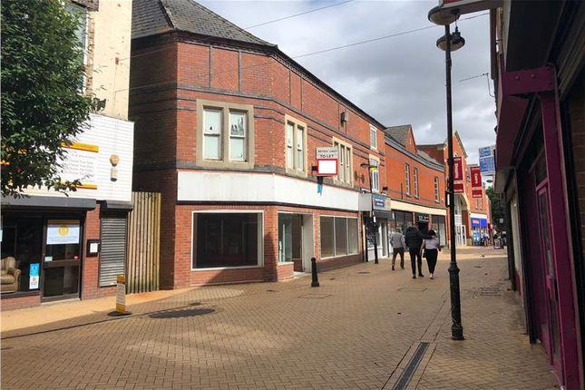 Thumbnail Retail premises to let in Low Street, Sutton-In-Ashfield, Nottinghamshire