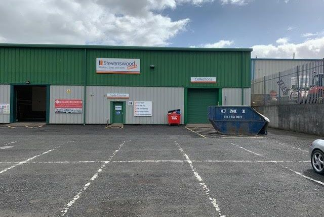 Thumbnail Light industrial to let in Unit 38, Anniesland Industrial Estate, Netherton Road, Anniesland, Glasgow