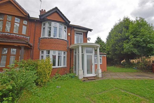 Thumbnail Semi-detached house for sale in Mauldeth Road, Burnage, Manchester