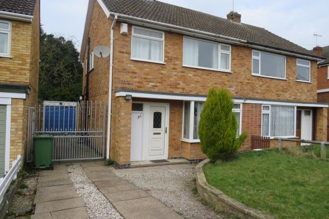 Thumbnail Property to rent in Somerby Drive, Oadby, Leicester