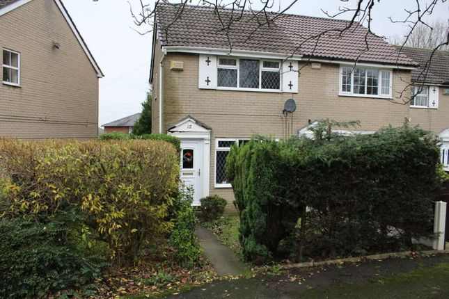 Thumbnail Semi-detached house for sale in Tame Barn Close, Milnrow, Rochdale