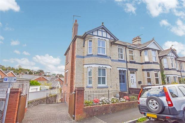 4 bed end terrace house for sale in Milton Road, Abbotsbury, Newton Abbot, Devon. TQ12