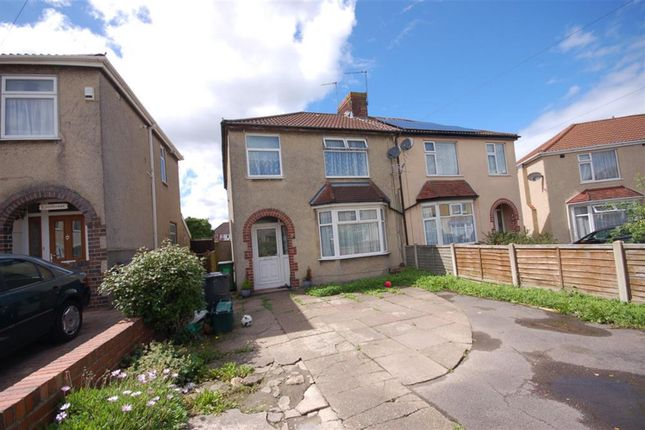 Thumbnail Semi-detached house for sale in Woodland Avenue, Kingswood, Bristol