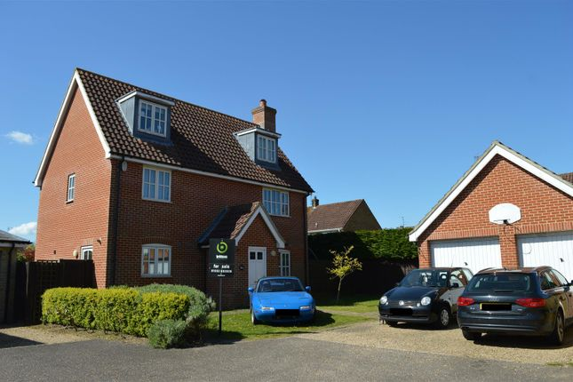 Thumbnail Detached house for sale in The Howards, North Wootton, King's Lynn