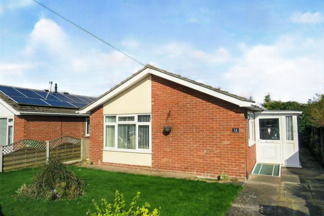 Thumbnail Detached bungalow for sale in New Crescent, Cherry Willingham, Lincoln