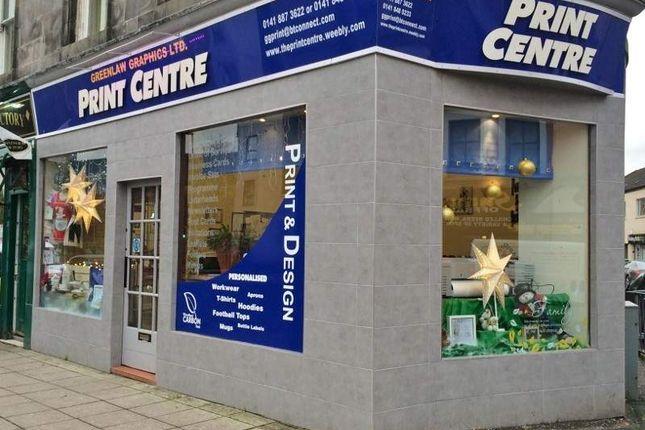 Thumbnail Retail premises for sale in 31A Gauze Street, Paisley