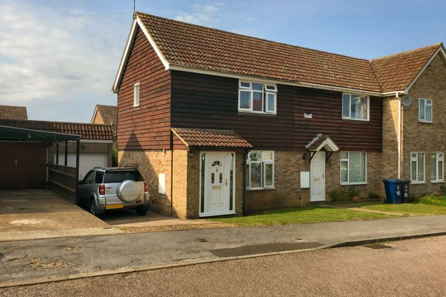 2 bed end terrace house to rent in Bawtree Crescent, Linton, Cambridge