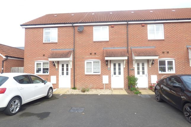 Thumbnail Terraced house to rent in Higher Meadow, Cranbrook, Exeter
