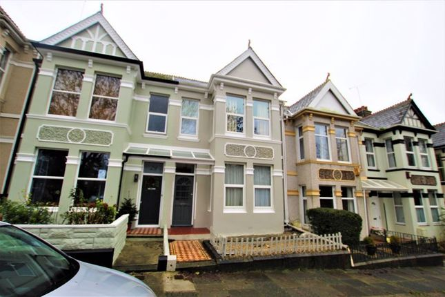 3 bed terraced house for sale in Barn Park Road, Peverell, Plymouth, Devon PL3