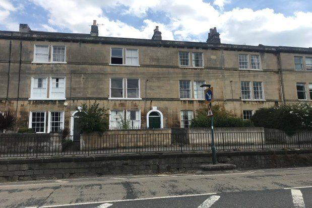 Thumbnail Studio to rent in Caroline Buildings, Bath