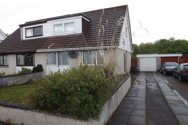 Thumbnail Semi-detached house for sale in Braeface, Alness