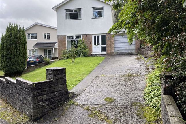 Thumbnail Detached house for sale in Cwm Alarch, Mountain Ash