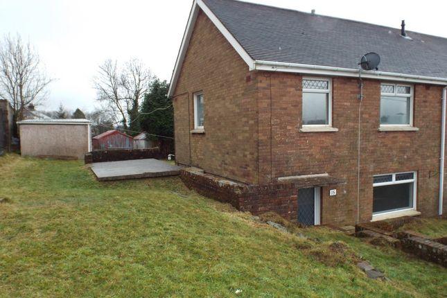 Thumbnail Semi-detached house for sale in Ffordd Aneurin, Pontyberem, Pontyberem, Carms