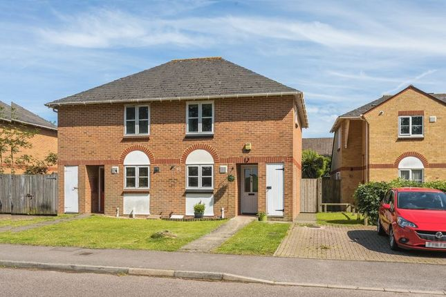 Thumbnail Semi-detached house for sale in Moorhead Road, Horsham, West Sussex