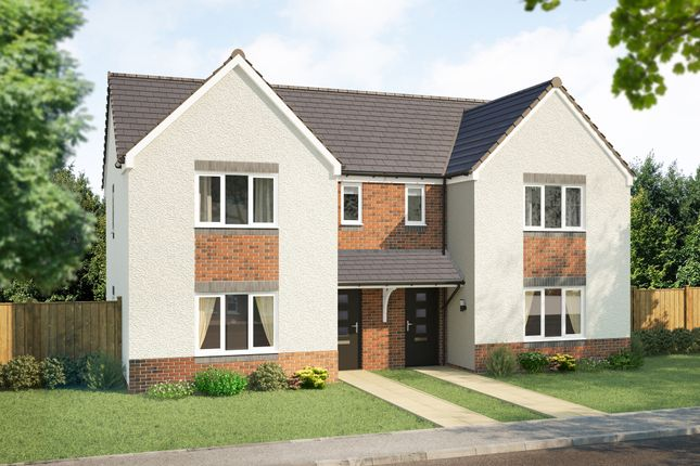 """Thumbnail Semi-detached house for sale in """"The Elgin"""" at Rosslyn Street, Kirkcaldy"""